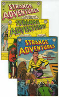 Golden Age (1938-1955):Science Fiction, Strange Adventures Group (DC, 1952-53) Condition: Average VG-....(Total: 7 Comic Books)