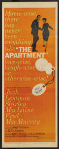 "Movie Posters:Academy Award Winner, The Apartment (United Artists, 1960). Insert (14"" X 36""). AcademyAward Winner. ..."