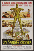 "Movie Posters:Adventure, The Colossus of Rhodes (MGM, 1961). One Sheet (27"" X 41"").Adventure. ..."