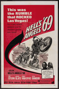 "Movie Posters:Action, Hell's Angels '69 (American International, 1969). One Sheet (27"" X41""). Action. ..."