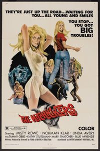 """The Hitchhikers (EVI, 1972). One Sheet (27"""" X 41""""). Bad Girl"""