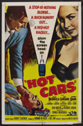"""Movie Posters:Crime, Hot Cars (United Artists, 1956). One Sheet (27"""" X 41""""). Crime...."""