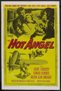"Movie Posters:Drama, The Hot Angel (Paramount, 1958). One Sheet (27"" X 41""). Drama. ..."