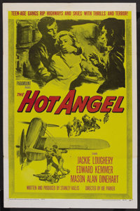 "The Hot Angel (Paramount, 1958). One Sheet (27"" X 41""). Drama"
