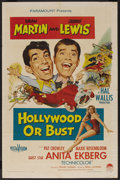 """Hollywood or Bust (Paramount, 1956). One Sheet (27"""" X 41""""). Comedy"""