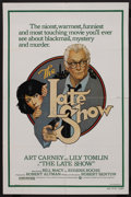 "Movie Posters:Crime, The Late Show (Warner Brothers, 1977). One Sheet (27"" X 41""). Crime. ..."