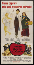 "Movie Posters:Comedy, Pocketful of Miracles (United Artists, 1962). Three Sheet (41"" X 81""). Comedy. ..."