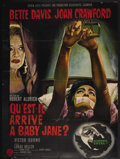 "Movie Posters:Thriller, What Ever Happened to Baby Jane? (Warner Brothers-Seven Arts, 1962). French Grande (45"" X 61""). Thriller. ..."