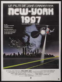 "Escape from New York (Columbia, 1981). French Grande (47"" X 63""). Action"