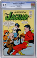 Silver Age (1956-1969):Superhero, Adventures of the Jaguar #12 (Archie, 1963) CGC VF/NM 9.0 Off-white to white pages....