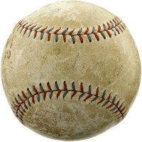 Circa 1930 New York Yankees Team Signed Baseball with Ruth, Gehrig. Fans of the Bronx Bombers had much to cheer about wi...