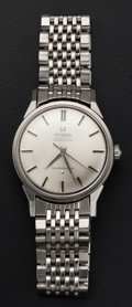 Timepieces:Wristwatch, Omega Reference 14900 Steel Constellation Wristwatch. ...