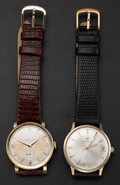 Timepieces:Wristwatch, Bulova & Wittnauer Manual Wind Wristwatches. ... (Total: 2 Items)