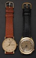 Timepieces:Wristwatch, Two Bulova Accutron's Wristwatches. ... (Total: 2 Items)