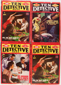 Pulps:Detective, Ten Detective Aces Group (Ace Magazines, Inc., 1944-47) Condition:Average VG+.... (Total: 13 Items)