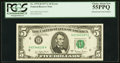 Fr. 1975-H $5 1977A Federal Reserve Note. PCGS Choice About New 55PPQ