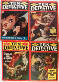 Pulps:Detective, Ten Detective Aces Group (Ace Magazines, Inc., 1948-49) Condition:Average VG+.... (Total: 10 Comic Books)