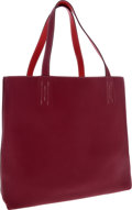 Luxury Accessories:Bags, Hermes Rubis & Bougainvillea Clemence Leather Double Sens MM Tote Bag. ...
