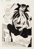 Original Comic Art:Splash Pages, Jackson Guice Doctor Strange, Sorcerer Supreme #12 SplashPage 1 Original Art (Marvel, 1989)....