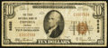 National Bank Notes:Virginia, Emporia, VA - $10 1929 Ty. 1 The First NB Ch. # 8688. ...