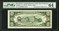 Error Notes:Third Printing on Reverse, Fr. 2024-L $10 1977A Federal Reserve Note. PMG Choice Uncirculated 64.. ...
