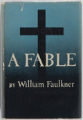 Books:First Editions, William Faulkner. A Fable. Random House, 1954. Firstedition, first printing. Publisher's binding. Original price $4...