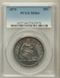Seated Half Dollars: , 1870 50C MS64 PCGS. PCGS Population (5/4). NGC Census: (5/3).Mintage: 633,900. Numismedia Wsl. Price for problem free NGC/...