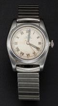 Timepieces:Wristwatch, Rolex Reference 2940 Steel Bubble Back Wristwatch. ...