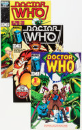 Modern Age (1980-Present):Science Fiction, Doctor Who #1-23 Multiple Copies Box Lot (Marvel, 1984-86)Condition: Average NM....
