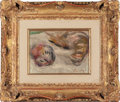 , PIERRE-AUGUSTE RENOIR (French, 1841-1919). Les Bécasses (TheWoodcocks), 1919. Oil on canvas. 5-3/4 x 7-7/8 inches (14.5...(Total: 5 Items)