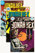 Bronze Age (1970-1979):Western, Jonah Hex Group (DC, 1974-82) Condition: Average VF+.... (Total: 44 Comic Books)