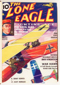 Pulps:Anthology, The Lone Eagle Bound Volumes (Better Publications, 1933-44)....(Total: 10 Items)