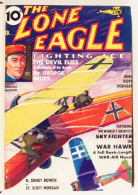The Lone Eagle Bound Volumes (Better Publications, 1933-44).... (Total: 10 Items)