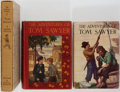 Books:Children's Books, Mark Twain. Group of Three: The Adventures of Tom Sawyer.Heritage Press and The Winston Co. 1964, 1931. Two 1930'... (Total:3 Items)