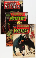 Bronze Age (1970-1979):Horror, House of Mystery/House of Secrets Box Lot (DC, 1970s) Condition:Average GD/VG....