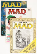 Magazines:Mad, Mad Group (EC, 1955-60) Condition: Average VG.... (Total: 7 ComicBooks)