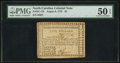 Colonial Notes:North Carolina, North Carolina August 8, 1778 $5 PMG About Uncirculated 50 EPQ.. ...