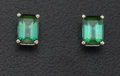 Estate Jewelry:Earrings, Tourmaline, White Gold Earrings. ...