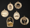 Estate Jewelry:Pendants and Lockets, Gold Pendant/Charm Lot. ...