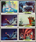 """Movie Posters:Animation, Peter Pan (RKO, 1953 & Buena Vista, R-1969). Lobby Cards (10) (11"""" X 14""""). Animation.. ... (Total: 10 Items)"""