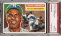 Baseball Cards:Singles (1950-1959), 1956 Topps Jackie Robinson #30 PSA Mint 9 - None Higher! ...