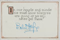 Autographs:Celebrities, Bob Hope Signed Quote....