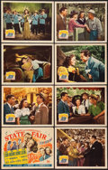 """Movie Posters:Musical, State Fair (20th Century Fox, 1945). Lobby Card Set of 8 (11"""" X 14""""). Musical.. ... (Total: 8 Items)"""