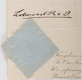 Autographs:Non-American, King Edward VII Clipped Signature....