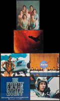"Movie Posters:Adventure, The Right Stuff (Warner Brothers, 1983). Deluxe Title Lobby Card& Deluxe Lobby Cards (5) (11"" X 14""). Adventure.. ... (Total: 6Items)"