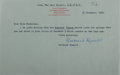 Autographs:Non-American, Bertrand Russell Letter Signed....