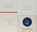 Autographs:U.S. Presidents, [Presidential Items]. Group of Four Holiday Greeting Cards... (Total: 4 Items)