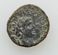 Ancients:Roman Provincial , Ancients: SYRIA. Decapolis. Gadara. Claudius (AD 41-54). Æ 17mm(4.31 gm)....