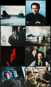 """Firefox and Others Lot (Warner Brothers, 1982). British Mini Lobby Card Sets of 8 (3) (8"""" X 10""""). Action..."""