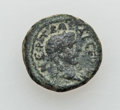 Ancients:Roman Provincial , Ancients: PHOENICIA. Dora. Trajan (AD 98-117). Æ 15mm (3.64 gm)....